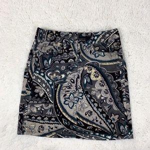 Ann Taylor Factory - Petite Floral Mini Skirt 00P